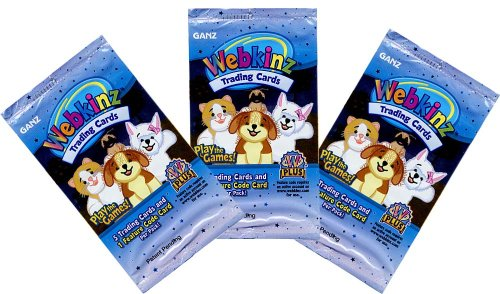 Webkinz Trading Card Game TCG Lot of 3 Booster Packs - Buy Webkinz Trading Card Game TCG Lot of 3 Booster Packs - Purchase Webkinz Trading Card Game TCG Lot of 3 Booster Packs (Ganz, Toys & Games,Categories,Games,Card Games,Collectible Trading Card Games)