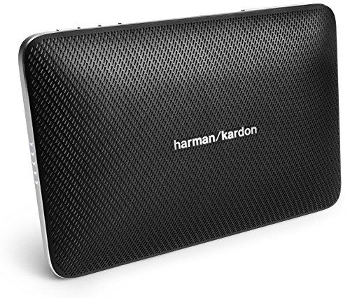 HarmanKardon-Esquire-Mini-Slimline-Tragbares-Aufladbares-Wireless-Bluetooth-Lautsprechersystem-mit-Integrierter-Freisprecheinrichtung-Schwarz