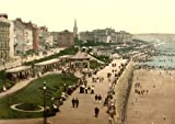 Bridlington, the parade (i.e., promenade), Yorkshire, England Photo, Photograph, Print, Picture.
