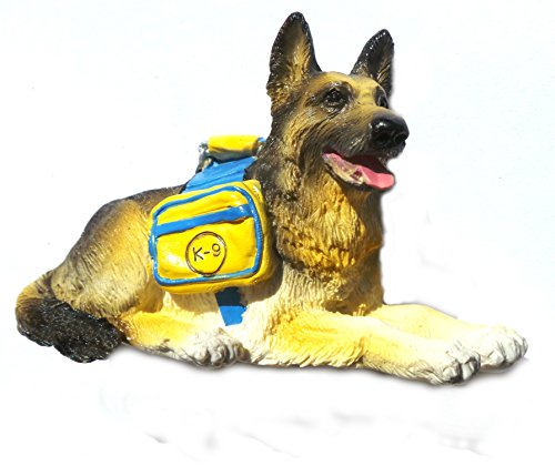 German Shepherd,Thailand Souvenir Dog High Quality Resin 3d Fridge Magnet Free Ship (Resin Shepherd compare prices)