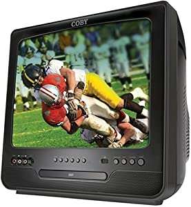 Coby TV-DVD1390 13-Inch Color CRT TV with Digital Tuner and DVD Player