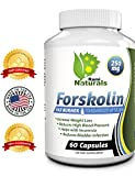 Rami Naturals® Forskolin 250mg Pure Coleus Forskohlii Root Extract Standardized Up to 20% Fat Burner