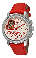 Zenith Women's 03.1230.4021/01.C538 Star Open El Primero Silver and Red Dial Watch by Zen Awakening