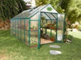 Systems Trading EG45812 Backyard Hobby Greenhouse, Green, 8 By 12 Feet