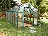 Systems Trading EG45812 Backyard Hobby Greenhouse, Green, 8 By 12 Feet