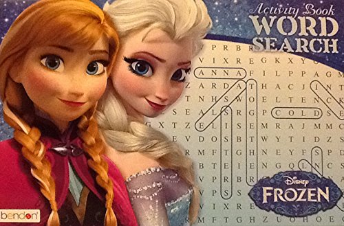 "Disney Frozen ~ Oversized Giant Word Search Activity Book ~ 16"" X 11"" 24 Pages - 1"