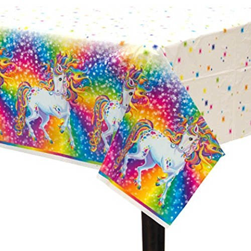 Lisa Frank 'Majesty' Plastic Table Cover (1ct) - 1