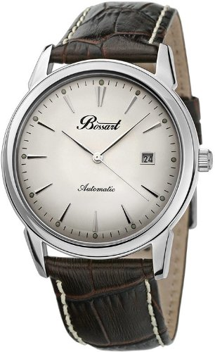 Bossart Watch Co. Automatic BW-1103-AS-Wbrle Automatic Watch for Him Classic  &  Simple