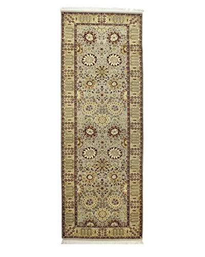Bashian Hand Knotted Fine Pak Kashan Rug, Red, 3′ 1″ x 9′ 3″ Runner
