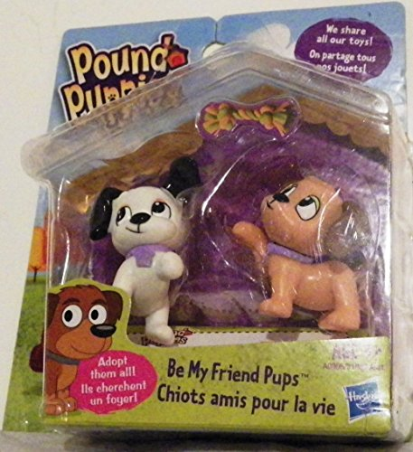 Pound Puppies, Mini Figure 2-Pack, Be My Friend Pup