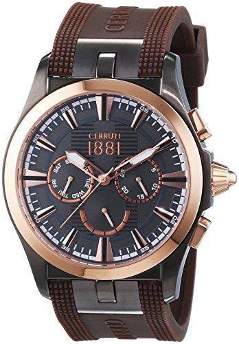 cerruti-cra076ur61-montre-homme-quartz-analogique-bracelet-silicone-marron