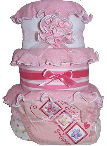 Create-A-Gift Little Girl Princess Baby Cake