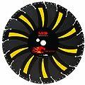 MK Diamond 166692 14-Inch Fire Tiger Tooth Black Label Diamond Demolition/Fire Rescue Blade