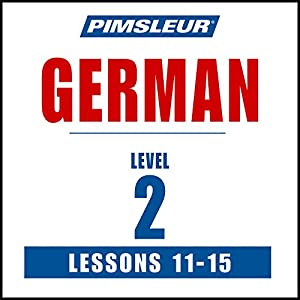 German Level 2 Lessons 11-15 Speech