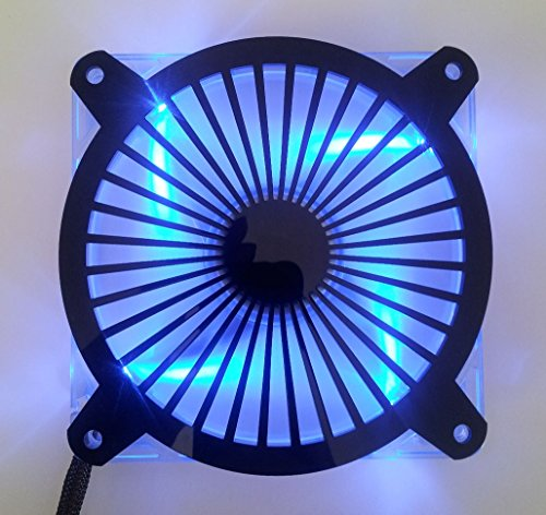 Custom Acrylic Turbine Computer Fan Grill 92mm (Custom Acrylic 92mm Fan Grill compare prices)