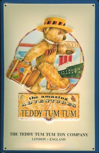 targa-in-stile-scudo-teddy-tum-orso-giocattolo-orsacchiotto