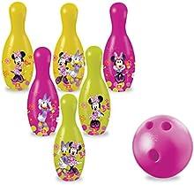 Comprar Minnie Mouse - Juego de 6 bolos, 20 cm (Mondo 28160)