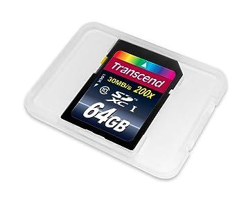 prix carte sd 64 go Transcend 64 Go Carte mémoire SDXC Classe 10 TS64GSDXC10E