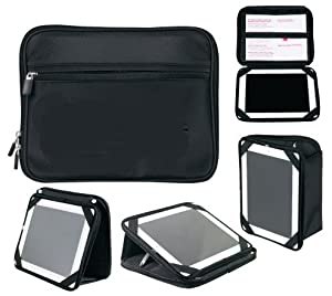 Yens® Fantasybag Convertible Tablet Stand and Pouch-Black, LP-7311