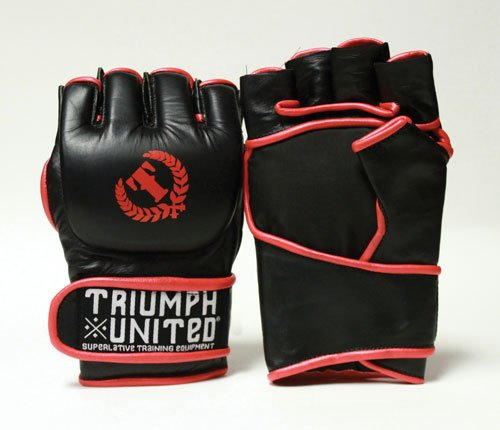 Triumph United Superlative Pro Competition Gloves, Black, Large (Triumph United Gloves compare prices)