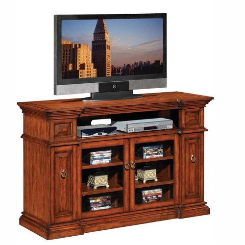 Buy low price waverly tresanti wooden tv stand and media for Where to buy tv console