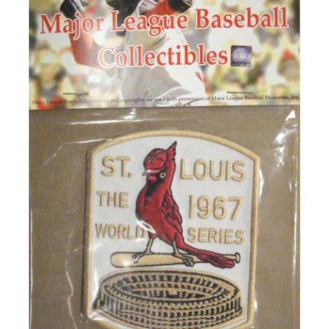 MLB St. Louis Cardinals 1967 World Series Patch at Amazon.com