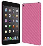 Skinomi® TechSkin - Apple iPad mini With Retina Display Wi-Fi + LTE 2013 (2nd Generation) Screen Protector Ultra Clear Shield + Pink Carbon Fiber Full Body Protective Skin + Lifetime Warranty
