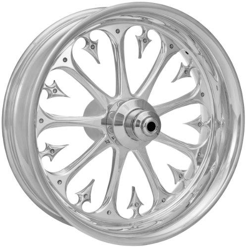 Xtreme Machine Stiletto Front Wheel 18x3 5 Chrome Chrome 1228 7806r