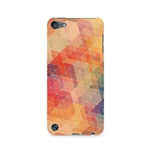 Mobicture Hexagon Patterns Premium Printed Case For Apple iPod Touch 5