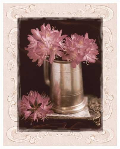 Pink Flowers Fresh Cuts I Art Print Poster by Richard Sutton
