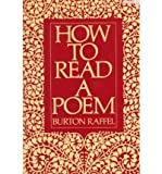 How to Read a Poem (Meridian) (0452006821) by Raffel, Burton