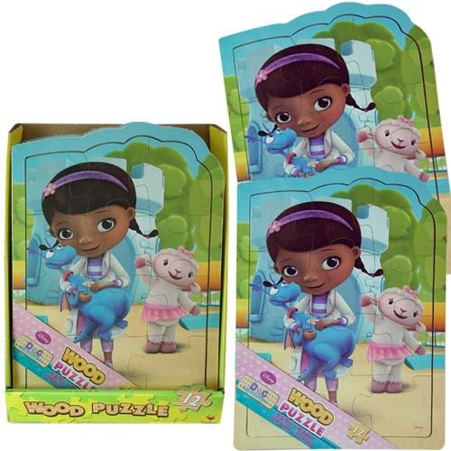Disney Doc McStuffins Shaped Wood Puzzle - Assorted Styles - 1