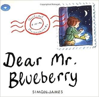 Dear Mr. Blueberry (Aladdin Picture Books) written by Simon James
