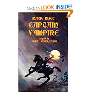 Captain Vampire by Brian Stableford and Marie Nizet