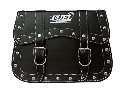 FUEL-Black-Saddle-Bag-Premium-Large-For-Cruiser-Bikes-St-11