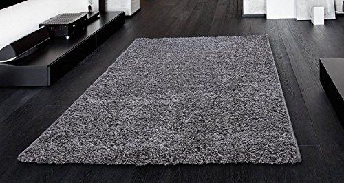 Dark Grey Bedroom Rug : Ottomanson soft cozy color solid shag rug contemporary