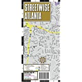 Streetwise Atlanta Map - Laminated City Street Map of Atlanta, Georgia - Folding pocket size travel map with integrated Marta lines & stationsby Streetwise Maps