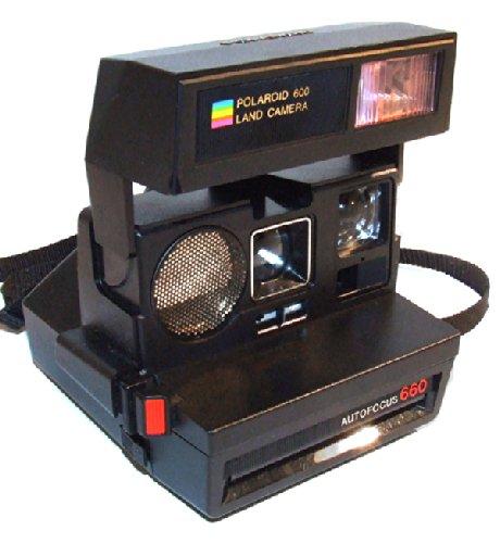 polaroid autofocus 660 land camera cameras optics cameras film cameras instant cameras. Black Bedroom Furniture Sets. Home Design Ideas