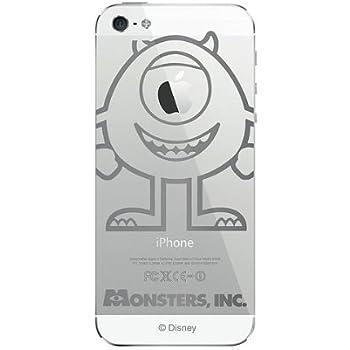 藤本電業 iPhone5 ケース カバー ディズニー アイフォンプラス マイク (J-I5-DP13)