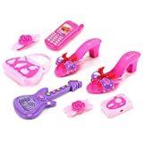 Style Angel Pretend Play Toy Fashion Beauty Set W/ Assorted Beauty Accessories (Colors May Vary)