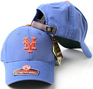 New York Mets MLB American Needle 1962 Cooperstown Retro Pastime Replica Destructured... by American Needle