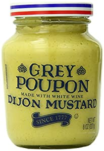 Grey Poupon Dijon Mustard, 8oz, 12 Count