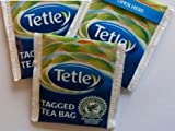 100 x Tetley Teabags Individual Enveloped Tagged Tea bags