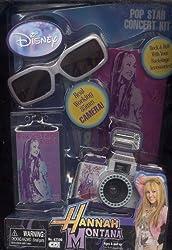 Pop Star Concert Kit * Hannah Montana * 35mm Camera * Sunglass + More