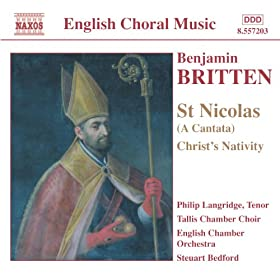 Saint Nicolas, Op. 42: Nicolas devotes himself to God