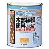 カンペハピオ 水性木部保護塗料 とうめい 1.6L