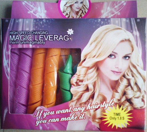 hair curlers: 18pcs Hair Rollers Snail Rolls Styling Curler Tools ...