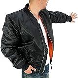 (マルカワジーンズパワージーンズバリュー) Marukawa JEANS POWER JEANS VALUE MA-1 フライトジャケット メンズ 大きいサイズ ミリタリー ブルゾン 迷彩 5color 3L ブラック