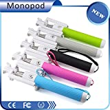 Selfie Stick,Premium Quality Wireless Mini Foldable Bluetooth Monopods for ios and Android from Xtreme Accessories,pocket Size with Built-in Bluetooth with Free Waterproof Storage Pouch Bag,take a Shot Anytime Anywhere with Our Selfie Sticks (Blue)