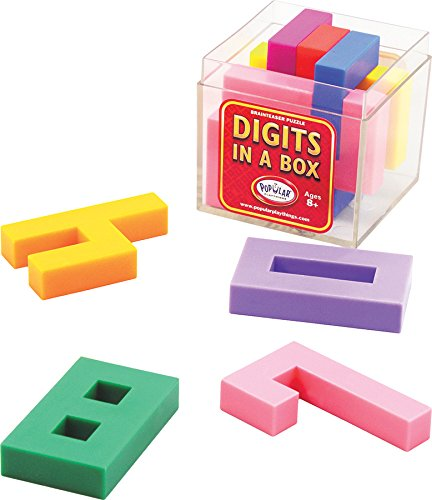 Digits in a Box Stacking Game